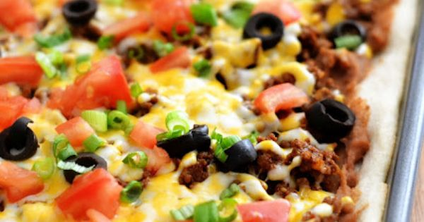 Taco Pizza - the best of both worlds! tacopizza homechanneltv.com