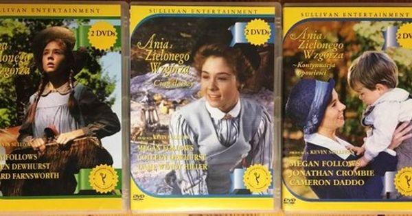 Ania Z Zielonego Wzgorza Komplet 6dvd 7025107719 Oficjalne Archiwum Allegro Baseball Cards Gilbert Cards