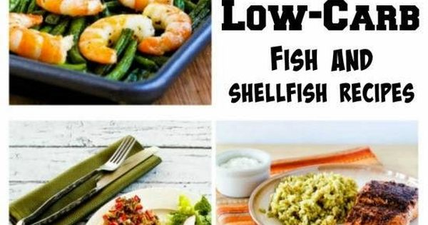 The best deliciously healthy low carb fish and seafood for How many carbs in fish