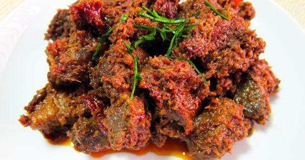 Beef rendang : plat traditionnel de la région ouest sur l ...