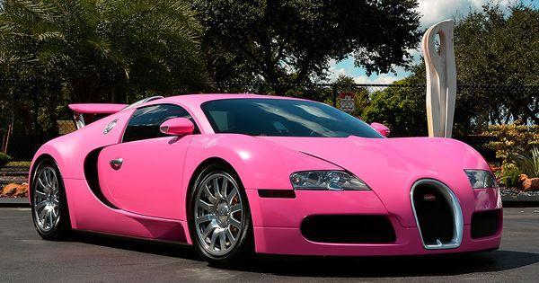 Most Expensive Car In The World >> Flo Rida's Pink Bugatti Veyron | Bugatti Wheelzz | Pinterest | Flo rida, Bugatti veyron and ...