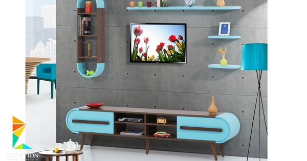 تصميم مكتبات مودرن افكار للتلفزيون المعلق على الحامل في الجدار 2019 Tv Unit Interior Design Wall Shelves Living Room Tv Unit Furniture Design