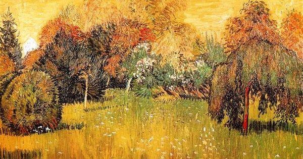 Vincent van gogh soleil du midi ou le jardin du po te for Boulevard du jardin botanique 20 22