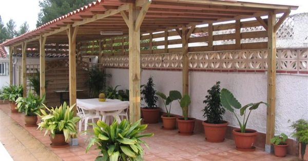 14880d1290640902 techos de madera techos de madera terraza - Techos de pergolas ...
