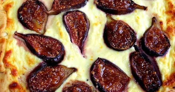 PROUD ITALIAN COOK: Rustic Fig and Ricotta Tart...ricotta ...