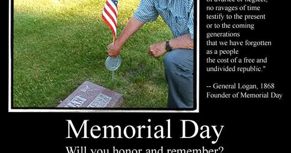 suggested memorial day speech
