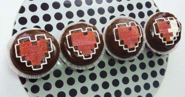Zelda cupcake tutorial