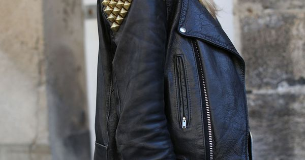 Cool leather jacket! must-have...!