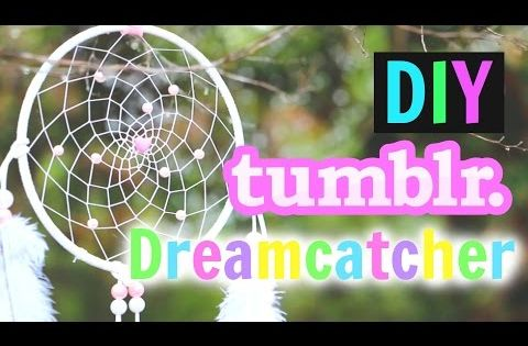 My fave sparkly diy tumblr dreamcatcher tutorial for Room decor gillian bower
