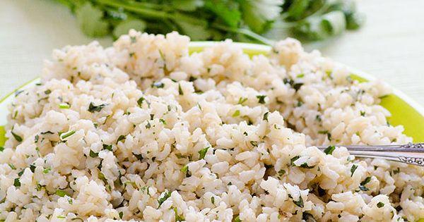 Cilantro Coconut Brown Rice | Recipe | Brown Rice, Cilantro and Rice