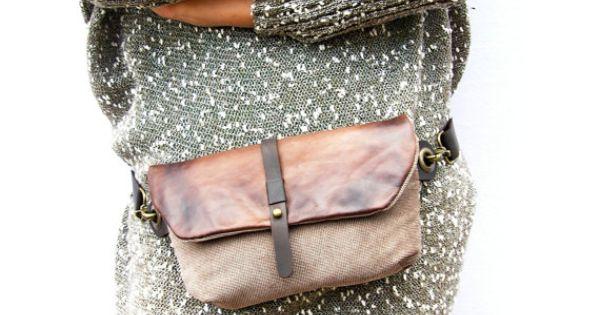 Hip Bag - Fanny Pack - Traveler Bag - Utility Hip Belt
