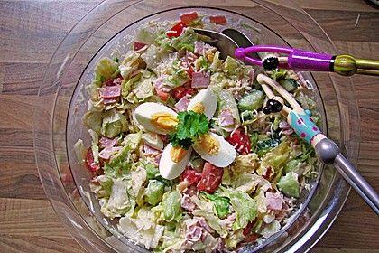 amerikanischer eisbergsalat rezept mit bild von jana87 salat pinterest rezepte. Black Bedroom Furniture Sets. Home Design Ideas