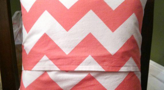 A Curiously Chic Life: DIY Pillow case pillowcase pillow tutorial