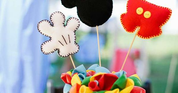 Mickey Mouse Birthday Party Ideas | Photo 3 of 79 | Catch