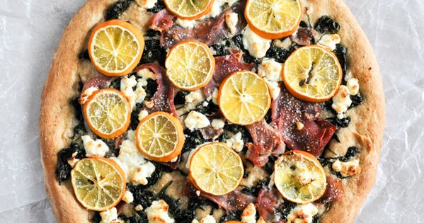 Goat Cheese and Meyer Lemon Pizza | Lemon, Pizza and Prosciutto