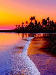 Atardecer En La Playa Sunset Wallpaper Sunset Photos Beautiful Nature