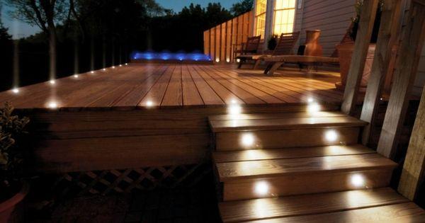 ... à LED en 50 idées de luminaire de jardin  LED et Décoration