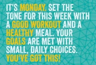 7 Monday Gym Motivation Quotes Detail There so many benefits of starting your week with a workout.