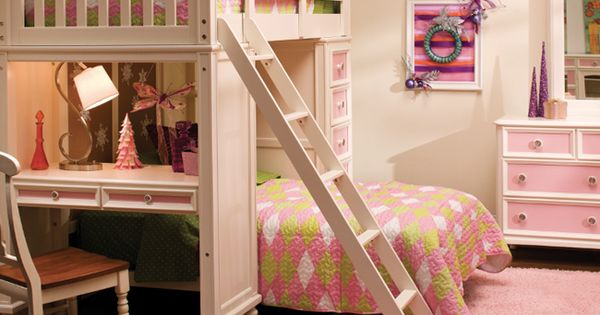 Build-A-Bear Collection | Loft bed and desk combination. | For the ...