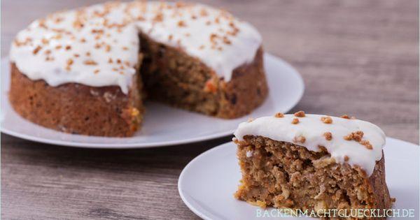 Healthy Low Fat Birthday Cake Recipes: Fettarmer Saftiger Karottenkuchen