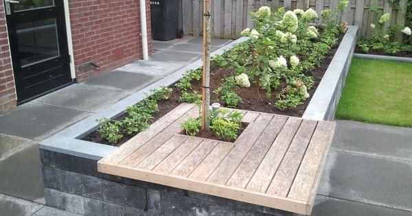 Tuin deco plantenbak huis en tuin pinterest tuinen verhoogde tuinen en inspiratie - Deco ontwerp idee ...