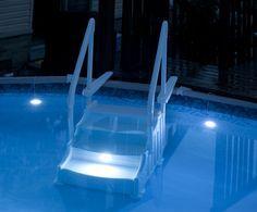 Above Ground Pool Lighting | Above ground pool lights, Above ...