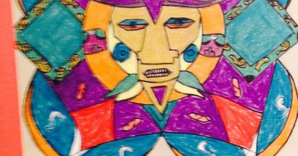 Aztec Calendar Art Lesson : Fifth grade mayan sun calendar project elementary