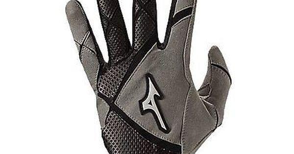 Easton Z7 VRS Black Large Adult Baseball//Softball Batting Gloves Pair