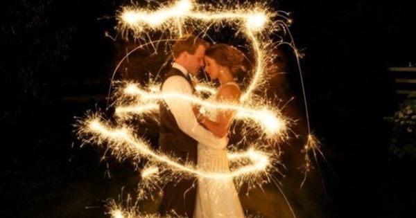 #Wedding photography inspirations and wedding photo ideas picked by www.UpPhotoArt.com: wedding sparklers,