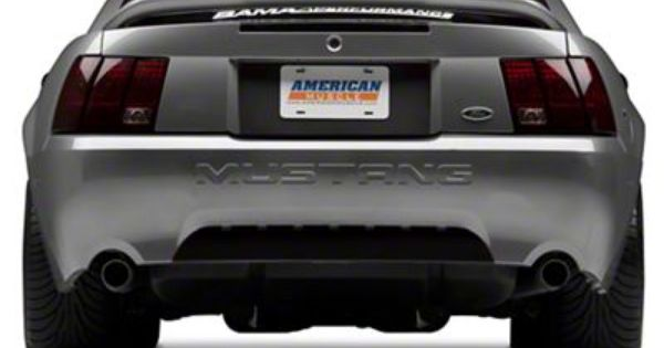 Raxiom Mustang Smoked Tail Lights 49080 99 04 All Excluding 99 01 Cobra Mustang Tail Light Muscle Cars