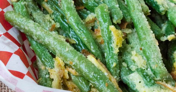 Oven Fried Parmesan Green Beans Recipe