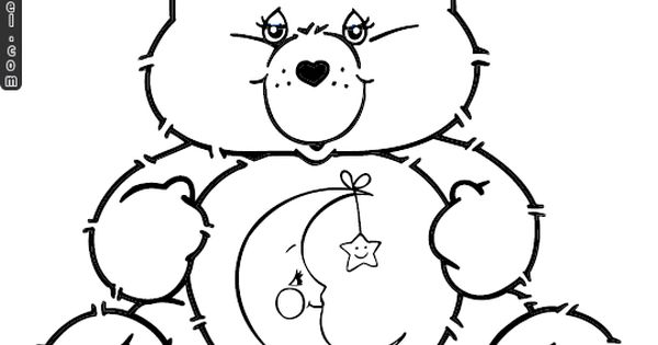 Care bears coloring pages bedtime
