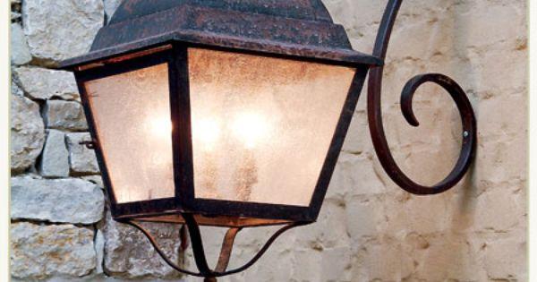 Jack Arnold European Attic Lanterns Etc Stone Decor Gas Lights House Front