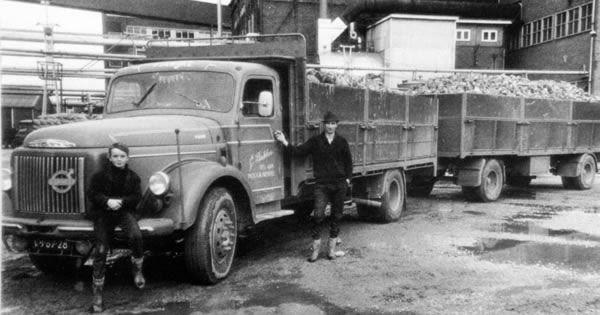 Oude trucks in zwart/wit /Volvo VB-67-28.jpg - oude glorie ...