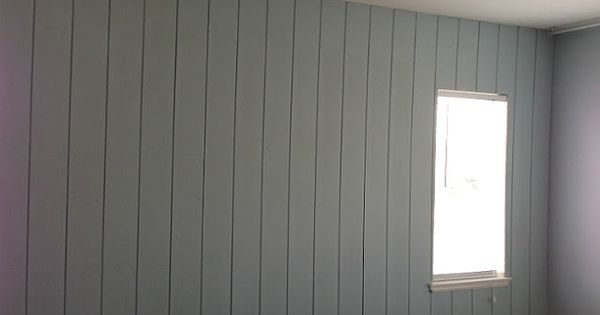 B Painted Wood Paneling Before After Wood Paneling Won