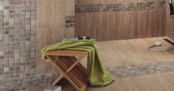 des murs de salles de bains hauts en couleur leroy merlin sdb pinterest mur de salle de. Black Bedroom Furniture Sets. Home Design Ideas