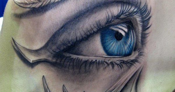 Eye Art - Body Paint