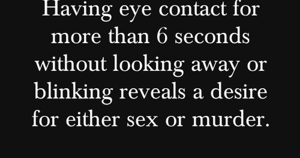 Creepy psychological fact