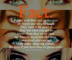 Sayings About People With Blue Green Eyes Quotes Green Eyed Girls Fact People With Green And Blue Eyes Jeg Eye Facts Green Eyes Quotes