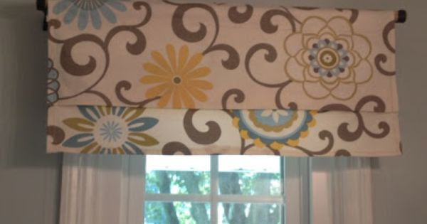 15 Minute Window Valance And Diy Coordinating Accessories