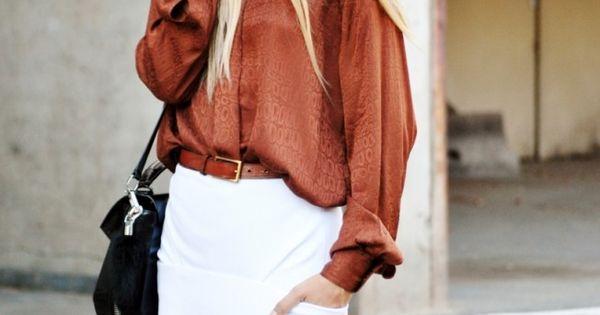 #Casual Deern EuropaPassage EuropaPassageHamburg Hamburg Street Style Inspiration Fashion weiß Rock Bluse