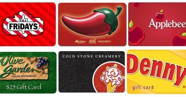 Deals Restaurant Gift Card Bonus Offers Restaurant Gift Cards