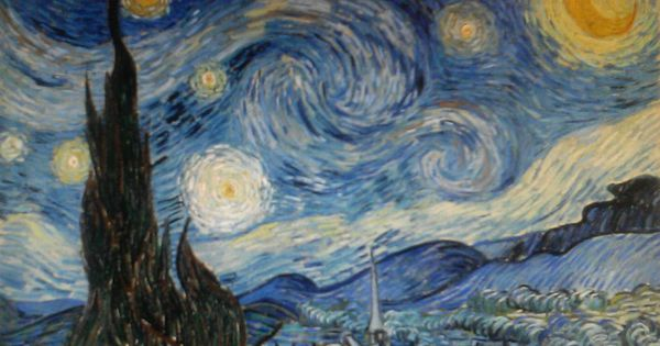 essay on starry night van gogh