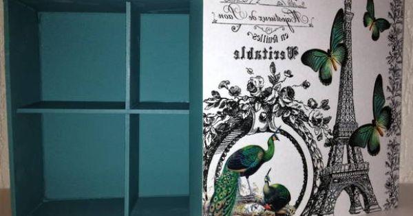 Pe as com estampa vintage paris pintura azul turquesa - Pintura azul turquesa ...