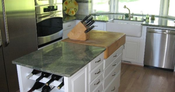 Coast green granite countertops kitchen pinterest for Granite remnants los angeles ca
