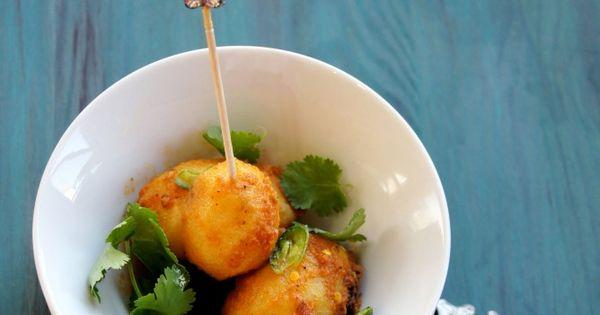 Niramish Dum Aloo – Spice Coated Baby Potatoes | YummyVeggie ...