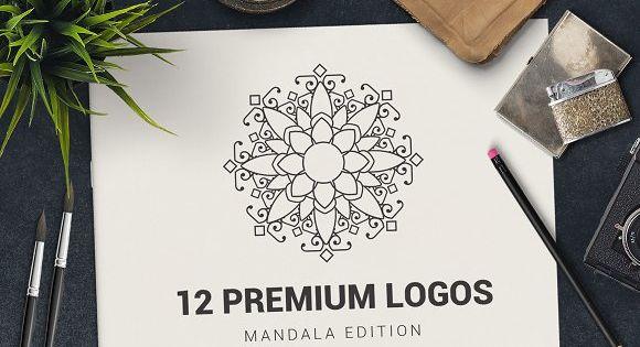 12 Premium Logos Mandala Edition