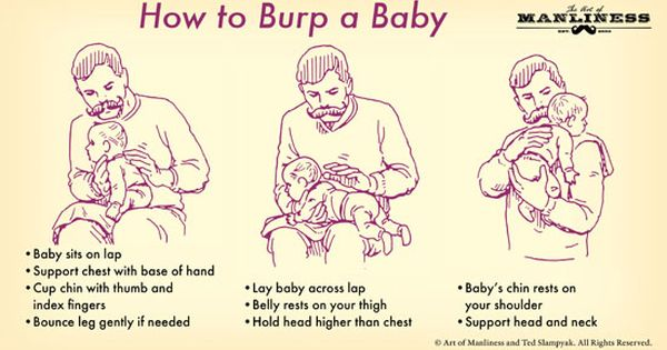 New Dad Survival Guide The Skillset Burping Baby Burp A Newborn New Dads