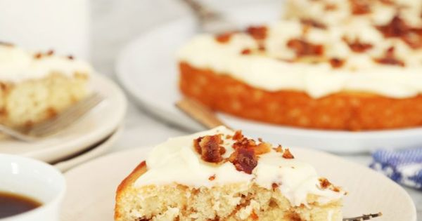 Maple Bacon Cinnamon Roll Cake… | Sweet Treats | Pinterest | Tocino ...