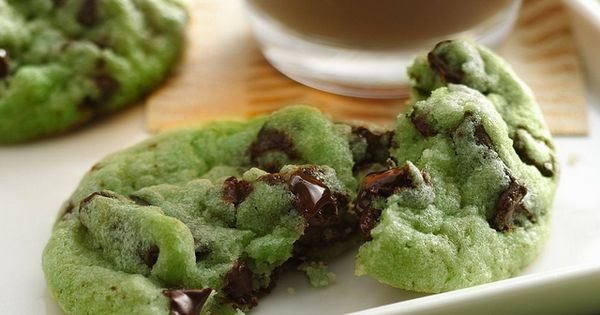 Mint Chocolate Chip Cookies Recipe INGREDIENTS: 1 pouch (1 lb 1.5 oz)